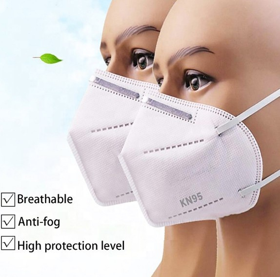 FFP2 Disposable KN95 Face Mask - BIOIDE VALLOPAK